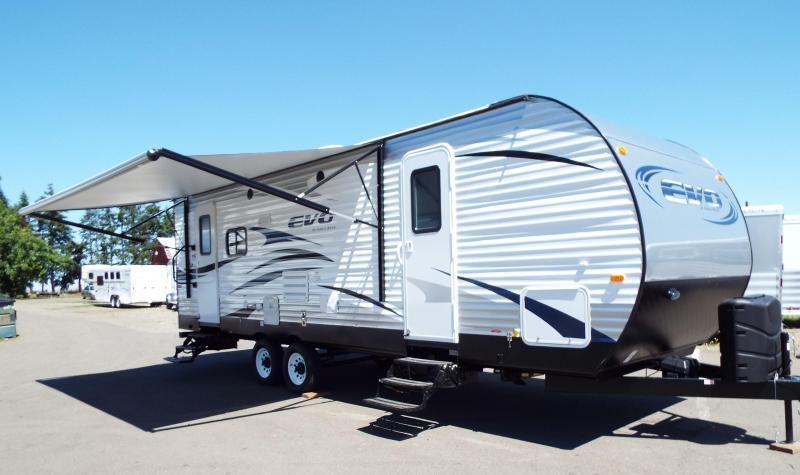2017 Forest River, Inc. Evo 2460 - Climate Package - Power Awnin