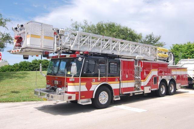 1997 E-One Fire Truck Fire Truck