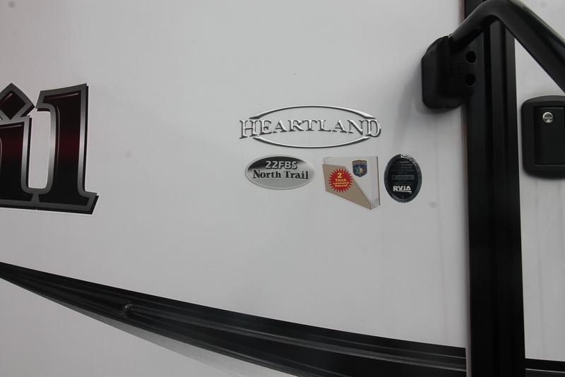 2017 Heartland North Trail NT 22FBS