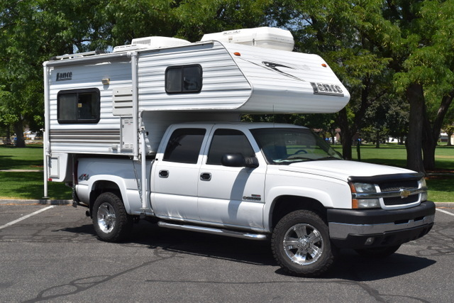 lance lite truck camper 815 rvs for sale