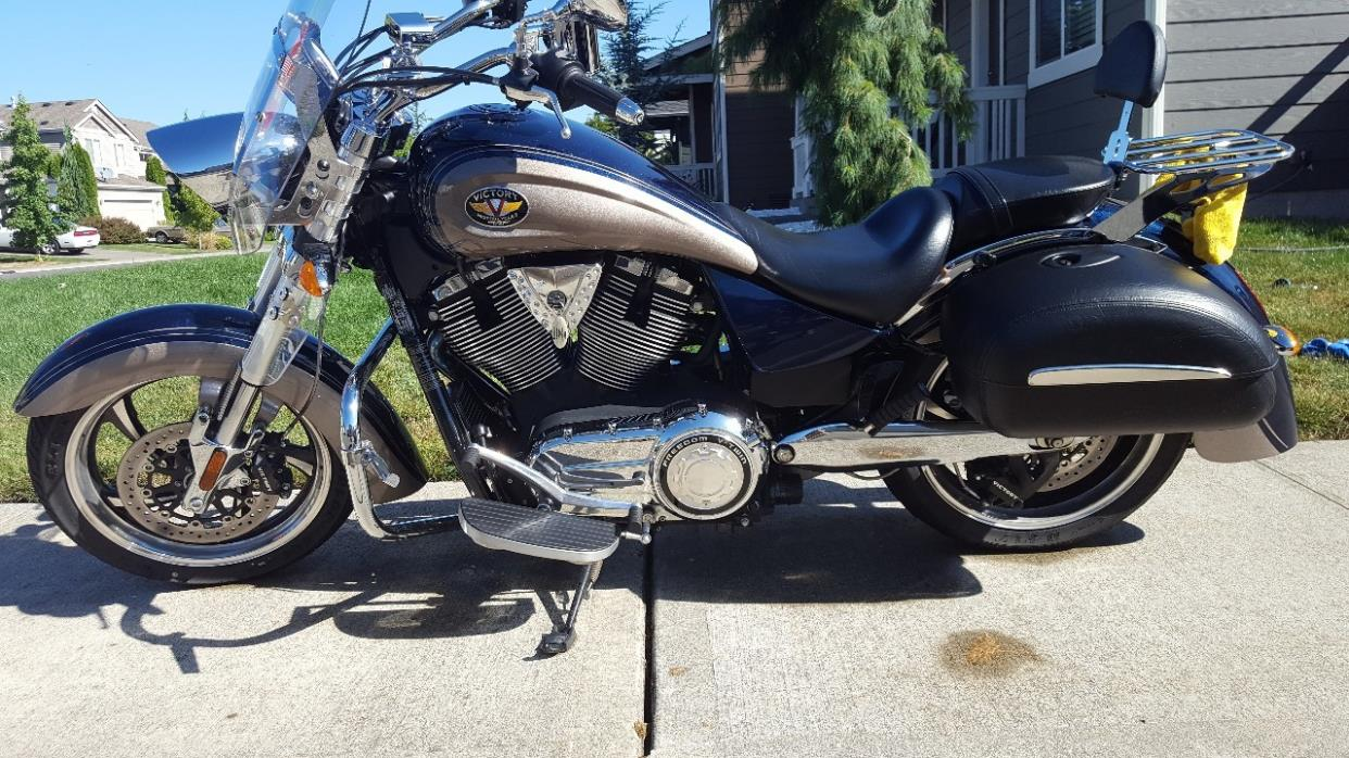 Victory Kingpin Motorcycles For Sale In Washington Custom Wiring Harness 2014 Cross Country