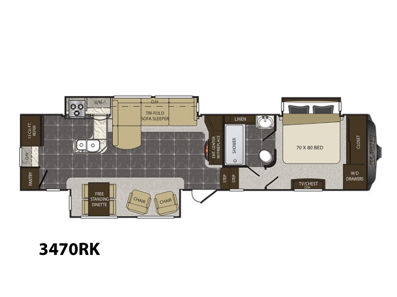 Keystone Alpine 3470rk Rvs For Sale