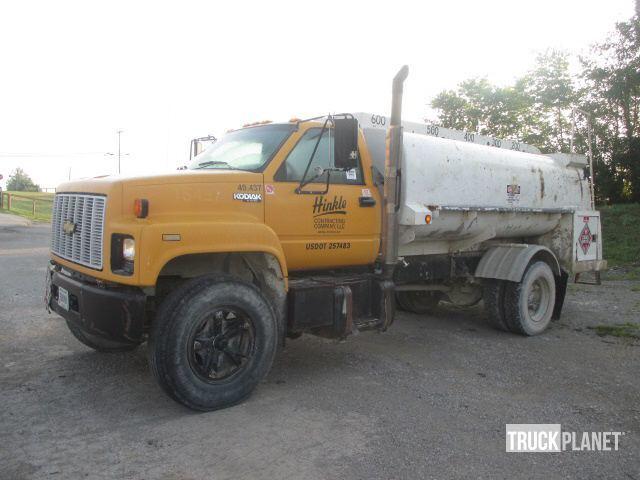 1993 Chevrolet Kodiak Fuel Truck - Lube Truck