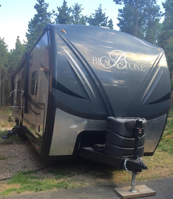 2014 Outdoors Rv Manufacturing Black Stone 280RKSB