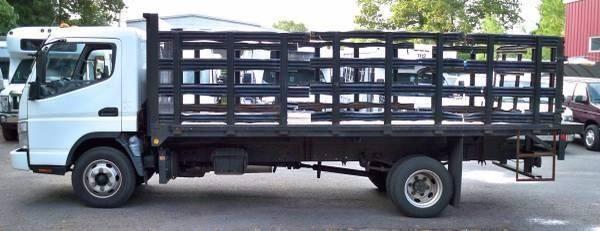 2007 Mitsubishi Fuso Flatbed Truck