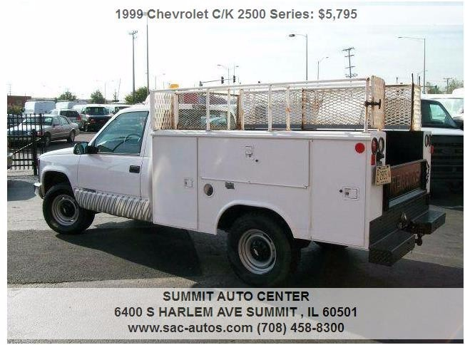 1999 Chevrolet C/K 2500 Series  Mechanics Truck