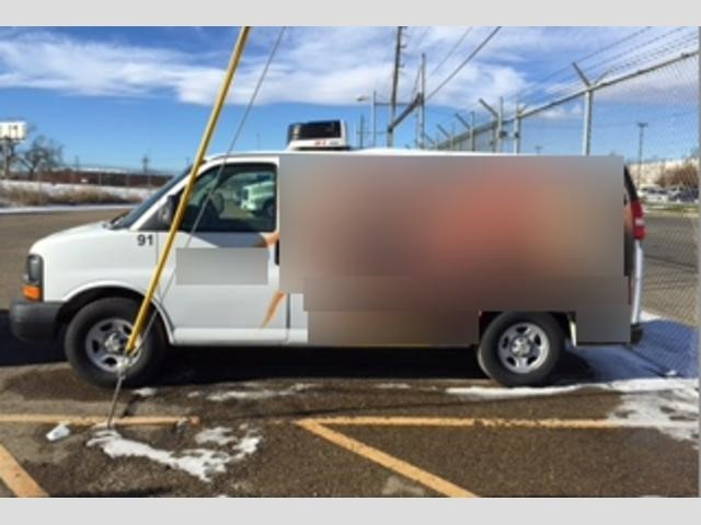 2007 Chevrolet Express G4500 Refrigerated Truck