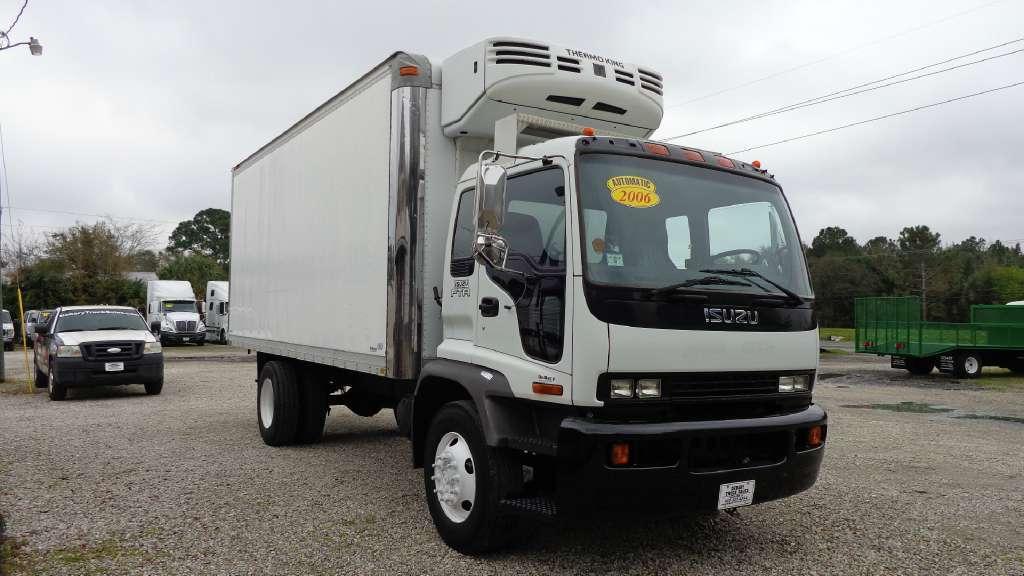 2006 Isuzu Fvr  Refrigerated Truck