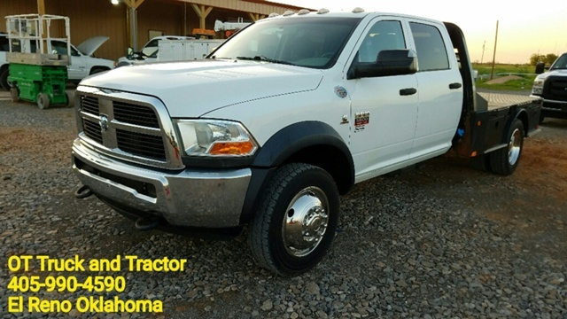2012 Ram 5500 Hd Chassis  Flatbed Truck