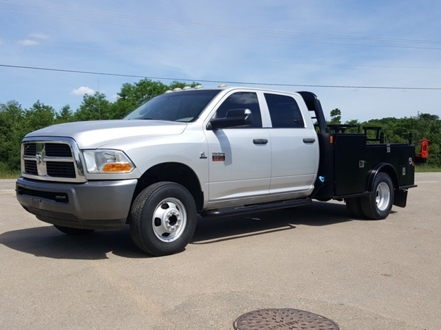 2011 Dodge Ram 3500 Hd  Flatbed Truck