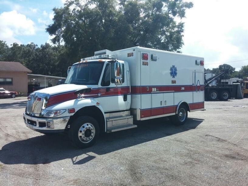 2013 International 4300 Ambulance