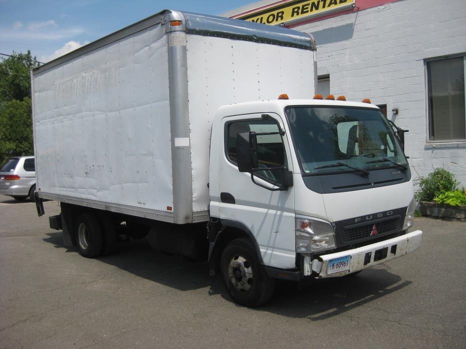 2006 Mitsubishi Fuso Fe145 Box Truck - Straight Truck