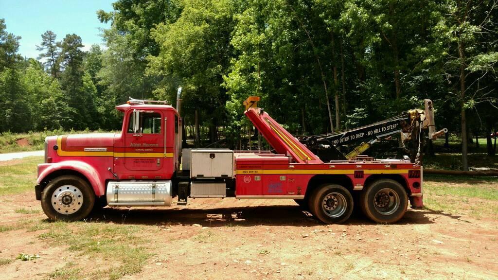 1986 International Eagle 9370  Wrecker Tow Truck