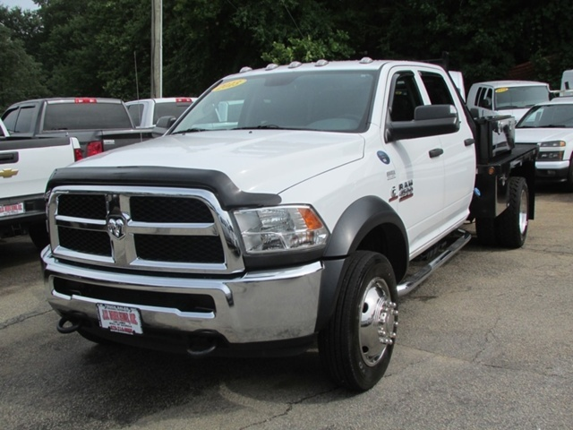 2013 Dodge Ram 4500 Hd Flatbed  Cab Chassis
