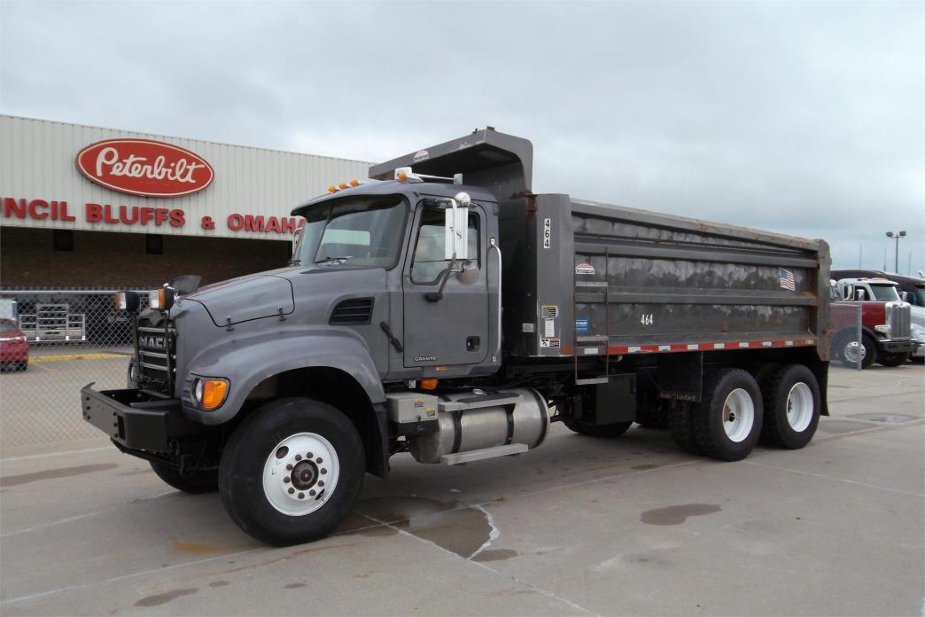 2004 Mack Granite Cu713 Dump Truck
