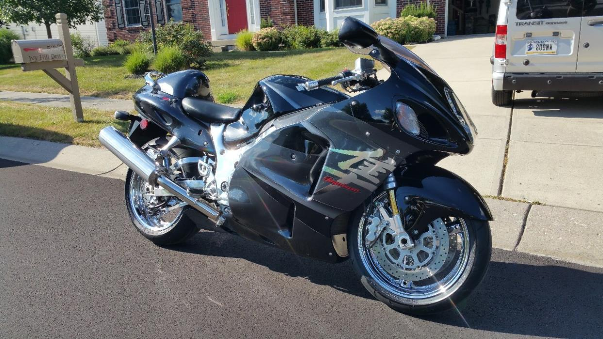Gold Hayabusa Motorcycles For Sale