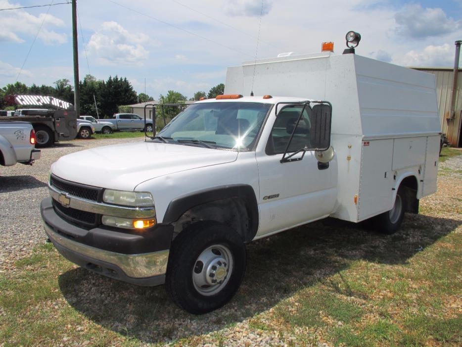 2002 Chevrolet Silverado 3500 Utility Truck - Service Truck