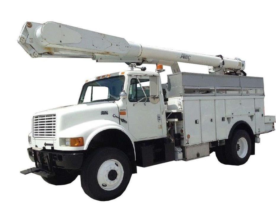 2002 International 4800 Utility Truck - Service Truck
