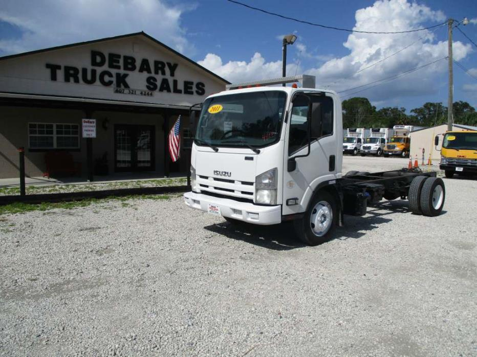 2011 Isuzu Nrr Cab  And  Chassis  Box Truck - Straight Truck