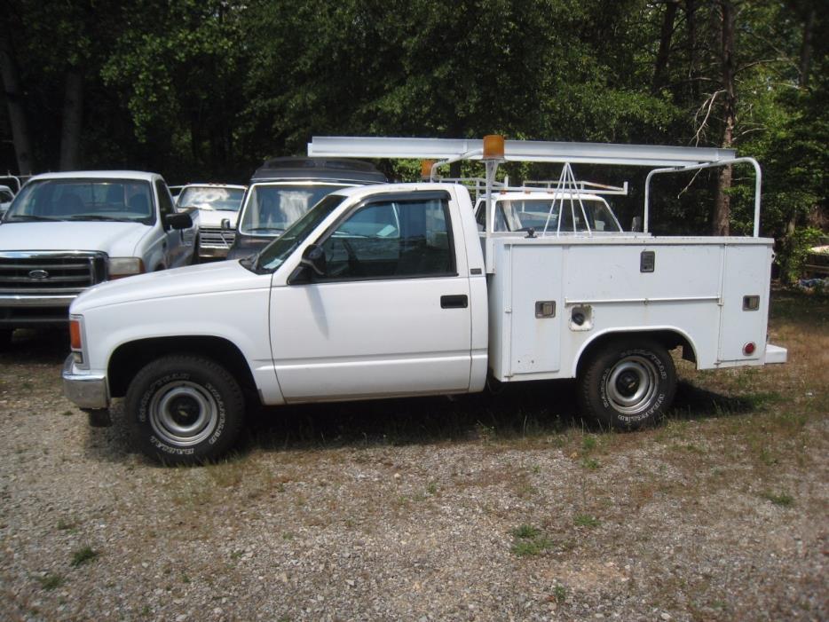 1990 Chevrolet Cheyenne Utility Truck - Service Truck