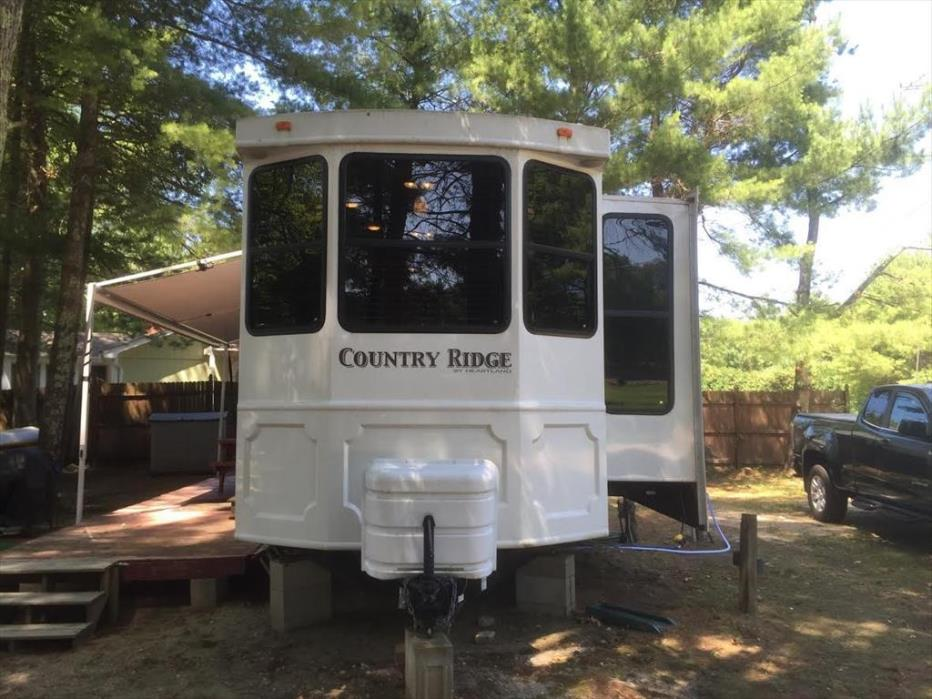 2012 Heartland Rv Country Ridge CR 40FKSS
