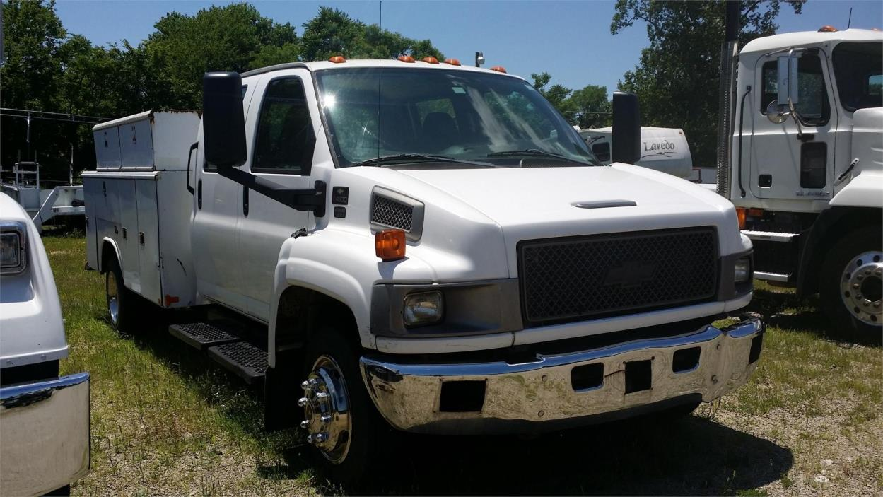 2007 Chevrolet Kodiak C4500 Utility Truck - Service Truck