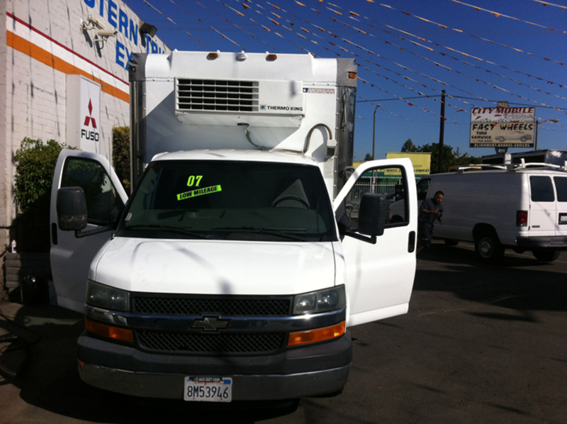 2007 Chevrolet G30 Refrigerated Truck