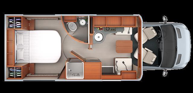 2017 Leisure Travel Unity 24IB Island Bed