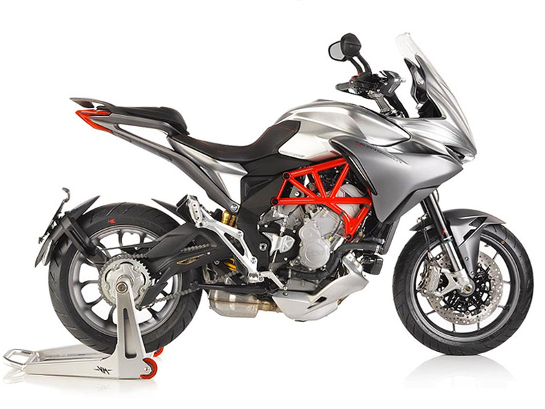 2016 Mv Agusta Brutale 800 RR - Pearl Shock Red / Pearl Ice White