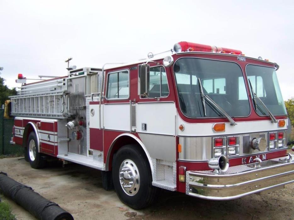 1988 E-One Fire Truck  Fire Truck