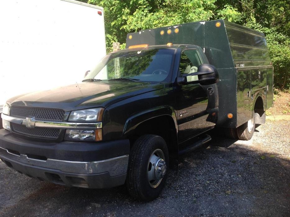 2003 Chevrolet Cheyenne 3500 Utility Truck - Service Truck