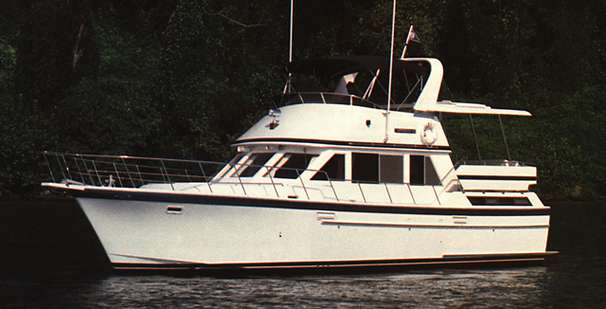 1988 Jefferson 42 SE Sundeck Motor Yacht