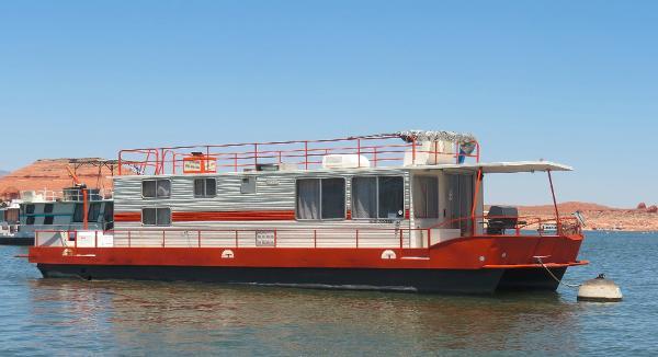 1980 Boatel Houseboat