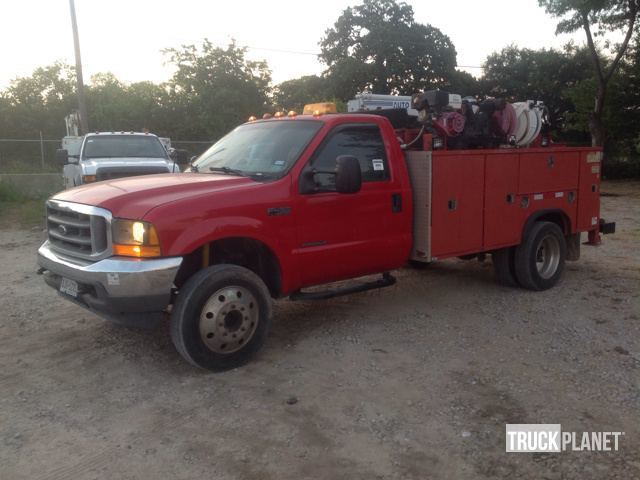 2000 Ford F-450 Xl Super Duty  Utility Truck - Service Truck