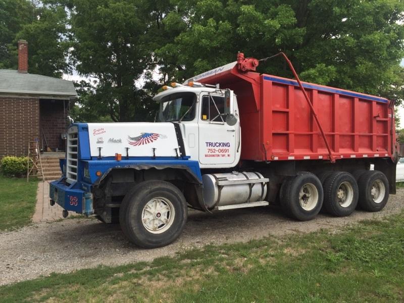 1987 Mack Rd866s  Dump Truck