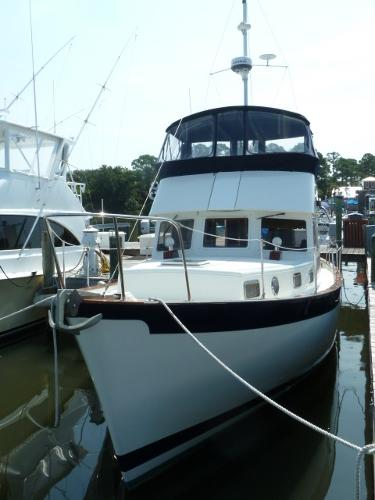 Trawler Engine Room: Willard 40 Trawler Boats For Sale