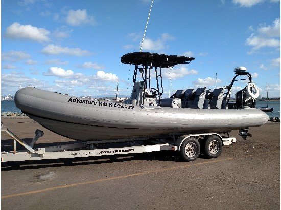 2001 Nautica International Wide Body RIB