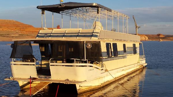 1986 Boatel VIP Houseboat