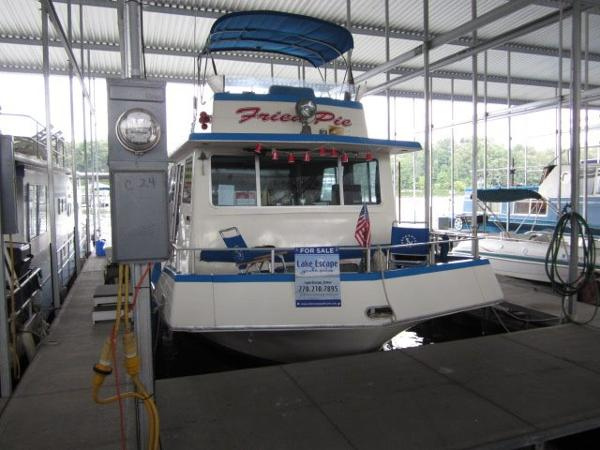 1977 NAUTALINE houseboat
