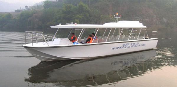 2015 Allmand 38 Water Taxi