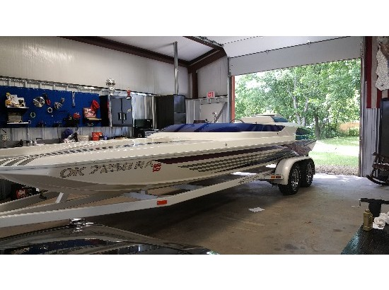 2001 Daves Custom Boats Mach 22