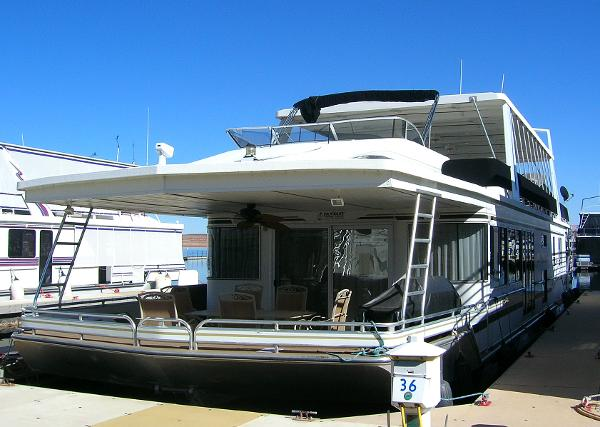 2001 Fantasy Houseboats 19' Beam