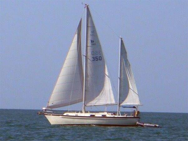 1980 Pearson 365 Ketch Sailboat