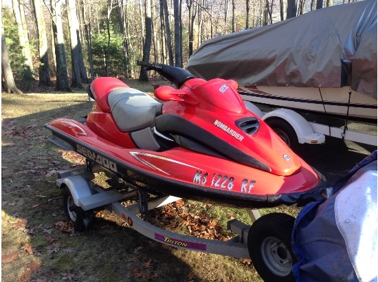 2000 Sea Doo Millenium Edition GTX