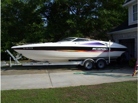1997 Wellcraft Scarab 26