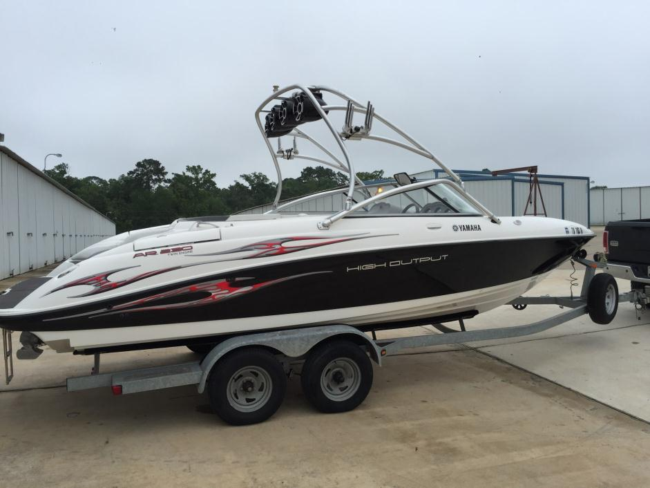 yamaha ar 230 boats for sale in willis texas