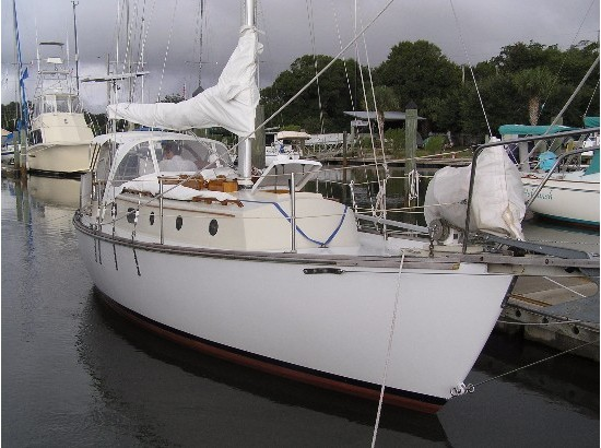 1981 Liberty double-ended cutter rigged