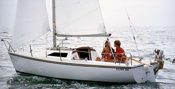 1989 Catalina Capri 22