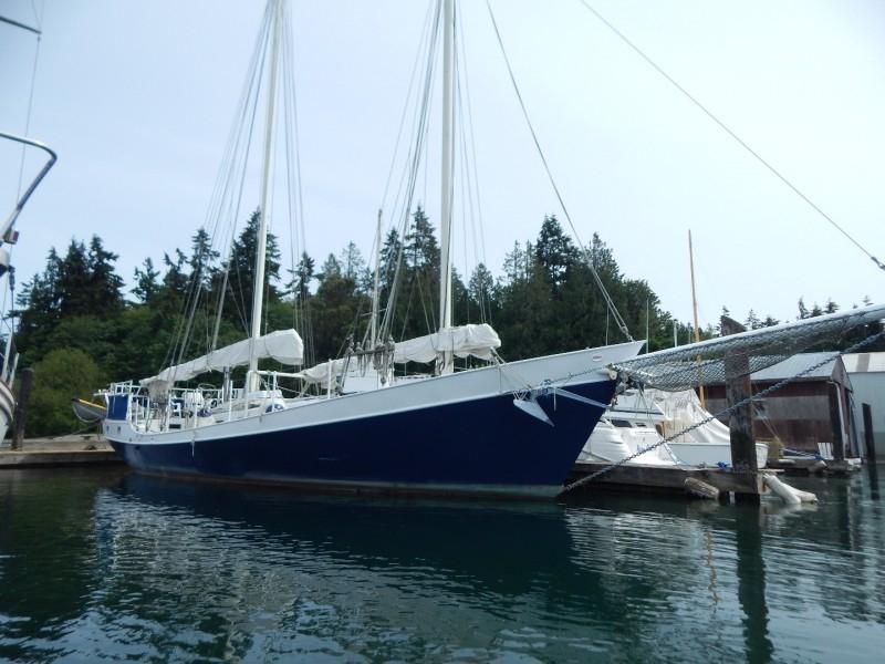 1986 COLVIN schooner