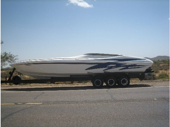 2001 Nordic 35 Flame